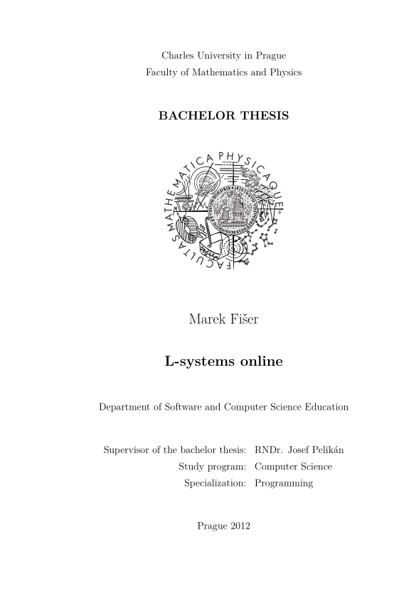 Dissertation bachelor degree